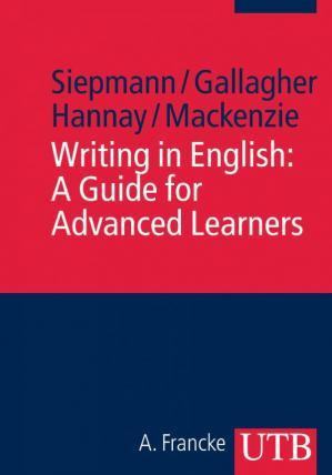 A capa do livro Writing in English: A Guide for Advanced Learners