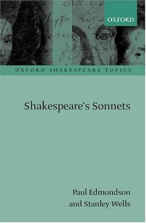 Book cover Shakespeare's Sonnets (Oxford Shakespeare Topics)
