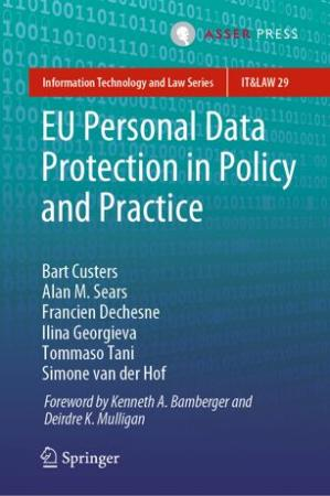 Book cover EU Personal Data Protection in Policy and Practice