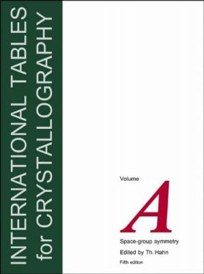 Buchdeckel International Tables for Crystallography, Volume A: Space Group Symmetry