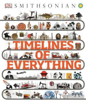 A capa do livro Timelines of Everything