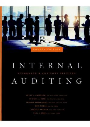 Book cover Internal Auditing - Assurance and Advisory Services 4th Edition