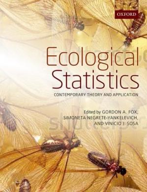 Book cover Ecological Statistics: Contemporary theory and application
