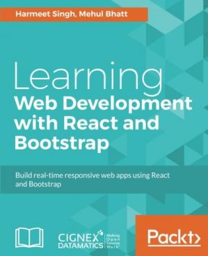 Book cover Learning Web Development with React and Bootstrap