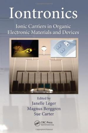 Portada del libro Iontronics: Ionic Carriers in Organic Electronic Materials and Devices