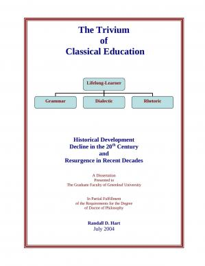 Book cover The Trivium of Classical Education
