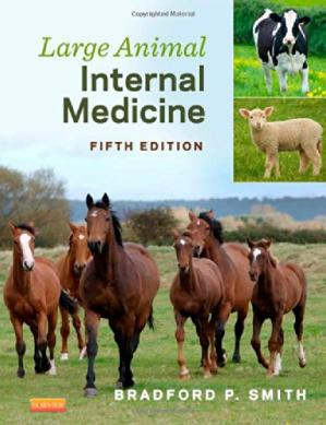 पुस्तक कवर Large Animal Internal Medicine, 5e