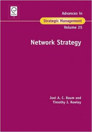 کتاب کی کور جلد Network Strategy (Advances in Strategic Management)