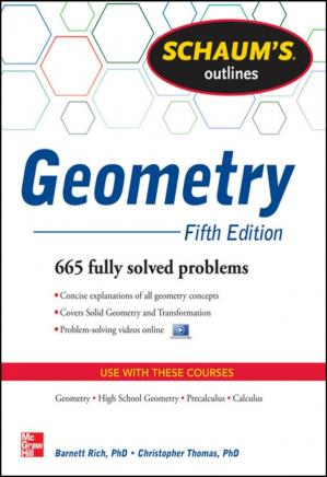 Book cover Schaum's Outline of Geometry (5th Ed.)
