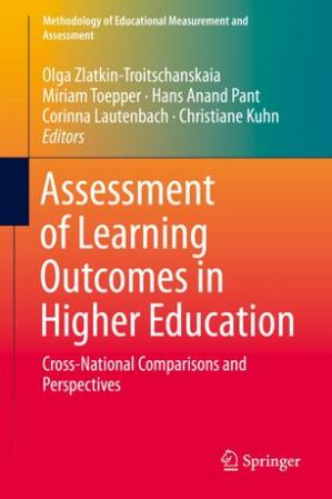 Book cover Assessment of Learning Outcomes in Higher Education