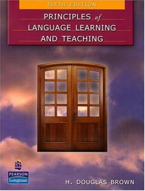 Book cover Principles of Language Learning and Teaching