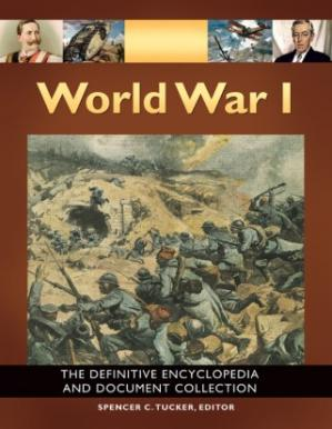 पुस्तक कवर World War I: The Definitive Encyclopedia and Document Collection