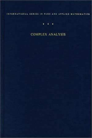 Copertina Complex Analysis: An Introduction to the Theory of Analytic Functions of One Complex Variable