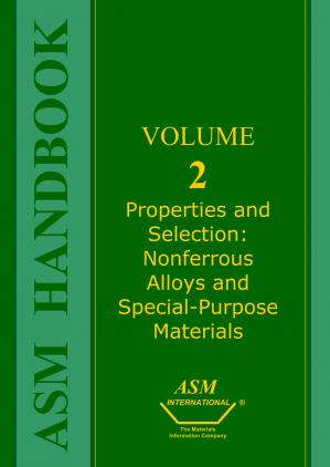 पुस्तक कवर Properties and Selection.. Nonferrous Alloys and Special-Purpose Materials