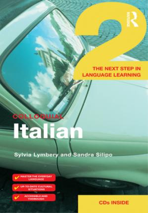Book cover Colloquial Italian 2: The Next Step in Language Learning