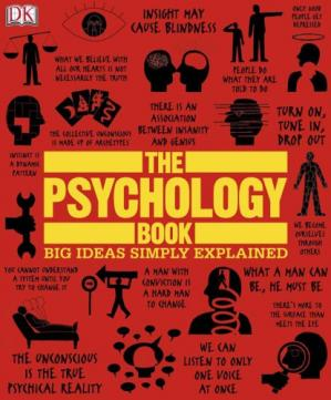 A capa do livro The Psychology Book (Big Ideas Simply Explained)