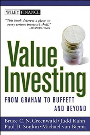 Book cover Value Investing: From Graham to Buffett and Beyond