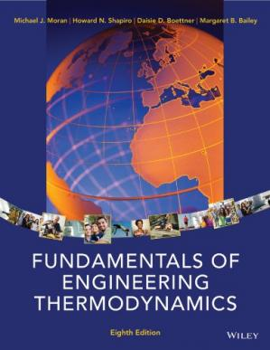 Book cover Fundamentals of Engineering Thermodynamics