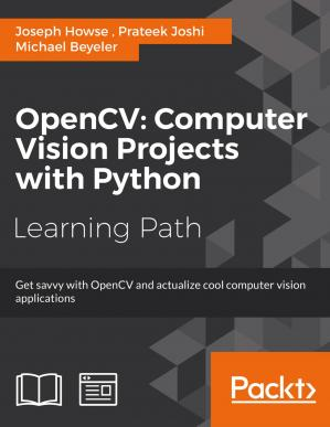 Book cover OpenCV: Computer Vision Projects with Python