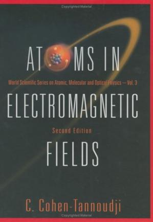 Book cover Atoms in electromagnetic fields