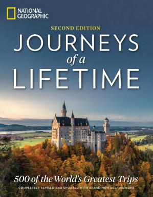 Couverture du livre Journeys of a Lifetime, Second Edition: 500 of the World's Greatest Trips