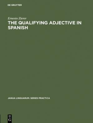 书籍封面 Qualifying Adjective in Spanish.