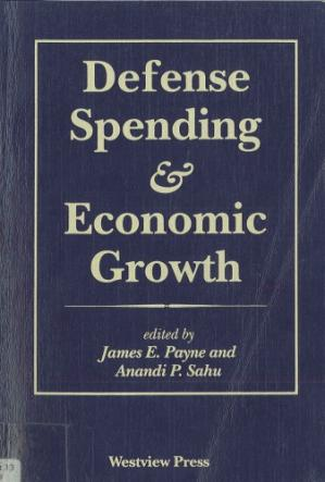 Couverture du livre Defense Spending & Economic Growth