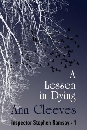 पुस्तक कवर A Lesson in Dying