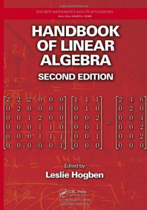 Copertina Handbook of Linear Algebra, Second Edition
