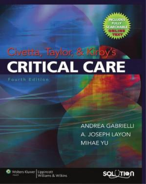 Εξώφυλλο βιβλίου Civetta, Taylor, and Kirby's Critical Care