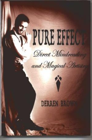 Book cover Pure effect: Direct mind reading and magical artistry
