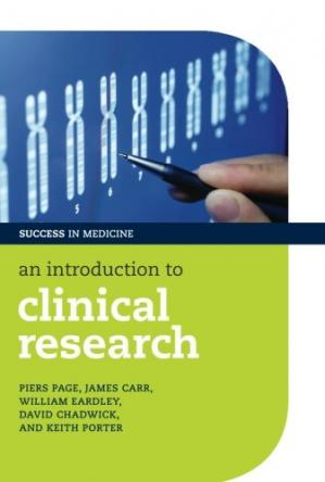 Book cover An Introduction to Clinical Research