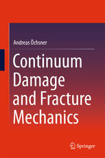 Copertina Continuum Damage and Fracture Mechanics