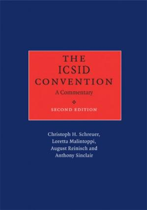 Εξώφυλλο βιβλίου The ICSID Convention: A Commentary