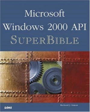 A capa do livro Windows 2000 API SuperBible