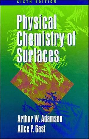 Book cover Physical chemistry of surfaces