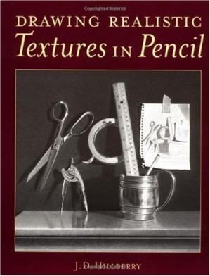 Book cover Drawing Realistic Textures in Pencil