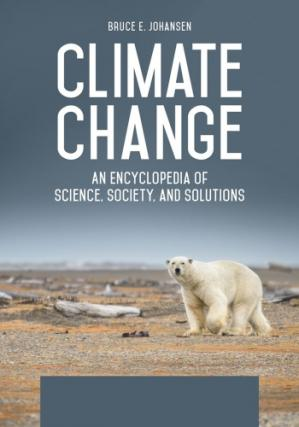 पुस्तक कवर Climate Change: An Encyclopedia of Science, Society, and Solutions