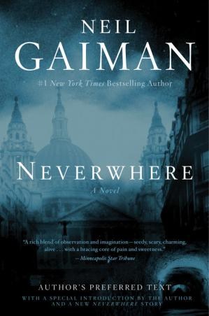 Book cover Neverwhere (Author's Preferred Text)