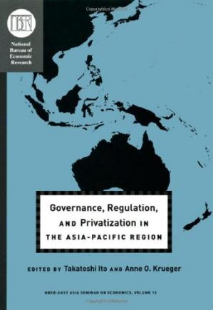 Εξώφυλλο βιβλίου Governance, Regulation, and Privatization in the Asia-Pacific Region (National Bureau of Economic Research-East Asia Seminar on Economics)