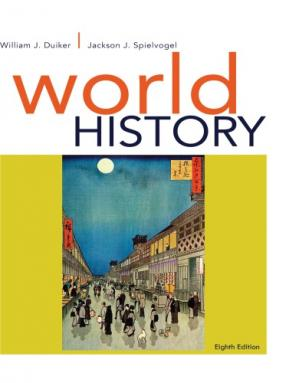 Book cover World History combined Volume