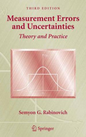Обкладинка книги Measurement Errors and Uncertainties: Theory and Practice