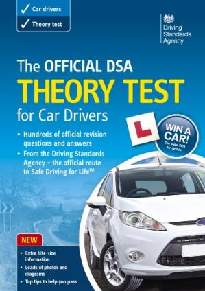 Book cover The Official DSA Theory Test for Car Drivers