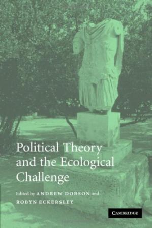 Sampul buku Political Theory and the Ecological Challenge