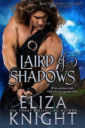 Book cover Laird of Shadows