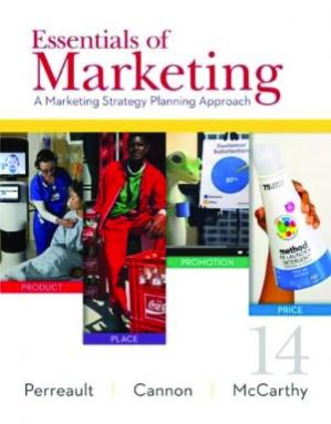 Εξώφυλλο βιβλίου Essentials of Marketing: A Marketing Strategy Planning Approach
