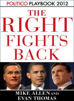 Copertina Playbook 2012: The Right Fights Back (Politico Inside Election 2012)