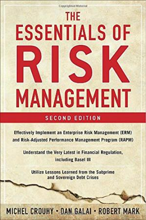 Book cover The Essentials of Risk Management