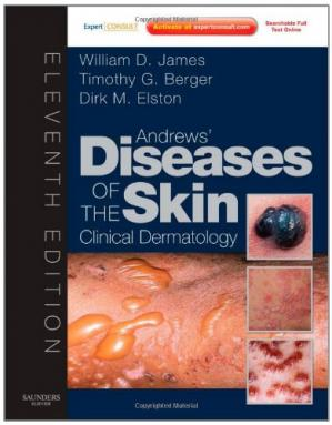 Copertina Andrews' Diseases of the Skin: Clinical Dermatology - Expert Consult - Online and Print (James, Andrew's Disease of the Skin), 11th Edition