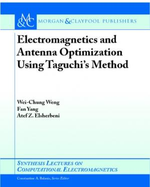 Copertina Electromagnetics and antenna optimization using Taguchi's method